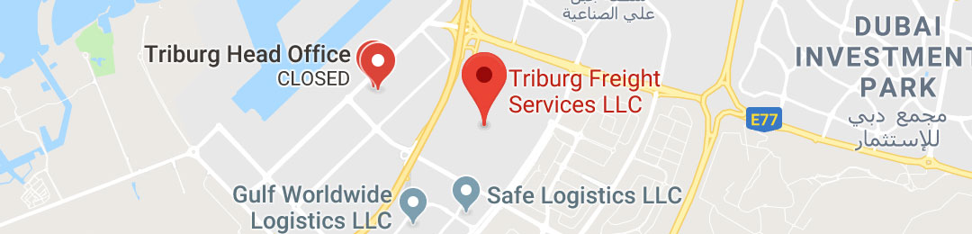 Triburg on map